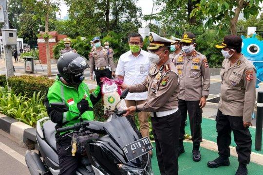 Operasi Keselamatan Jaya 2020 sasar pengendara angkutan umum Jakarta