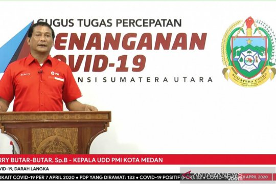 Dampak COVID-19 di Medan, stok darah menjadi langka