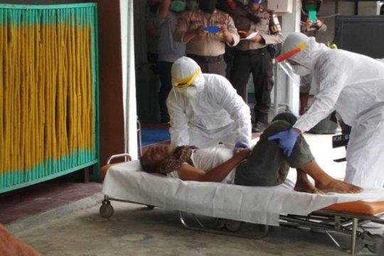 Seorang warga Kota Palangka Raya meninggal di depan ATM BRI
