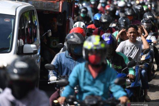 Kemacetan di Jakarta saat pandemi COVID-19