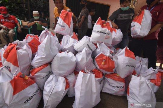 Pemerintah bagikan sembako kepada 1,2 juta keluarga di DKI Jakarta