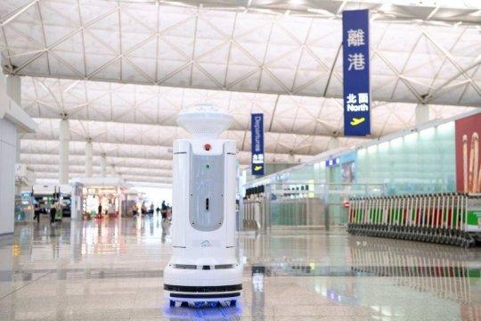 Perusahaan rintisan Kolombia uji coba robot pengantar makanan