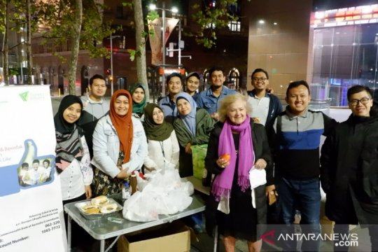 Dompet Dhuafa bagikan 300 paket makanan bagi tunawisma di Australia