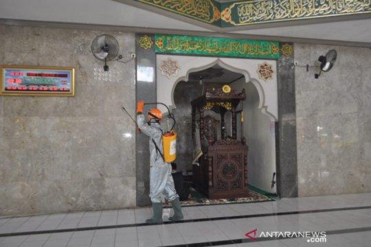 ACT-DMI NTB disinfektan masjid cegah penyebaran virus corona
