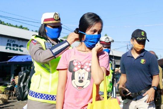Polisi bubarkan kerumunan di 190 lokasi wilayah Bali