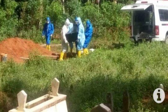 Pemakaman korban COVID-19 lancar, tanpa penolakan warga