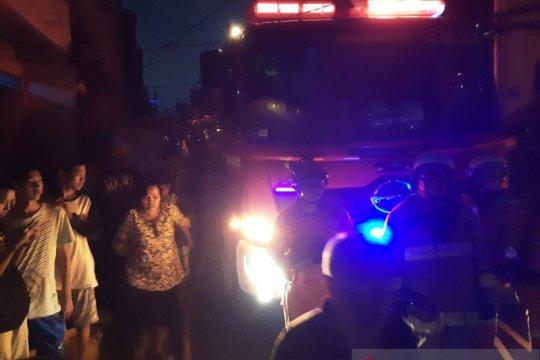 Ledakan gas diduga sumber kebakaran di Pasar Sukarela