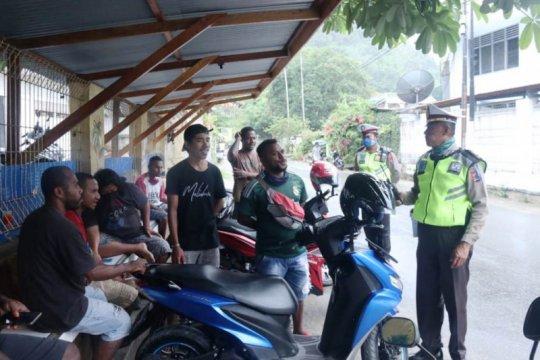 Polda Papua gelar patroli imbau warga dalam operasi keselamatan