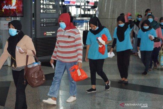 1.038 TKI ilegal dideportasi dari Malaysia