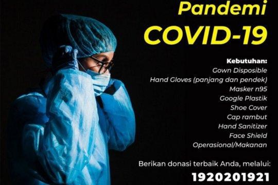 Persib Bandung serahkan bantuan APD ke-10 rumah sakit