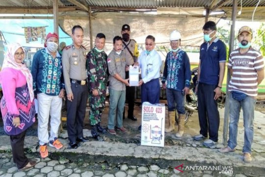 Cegah COVID-19, Indocement bantu desa binaan dengan disinfektan