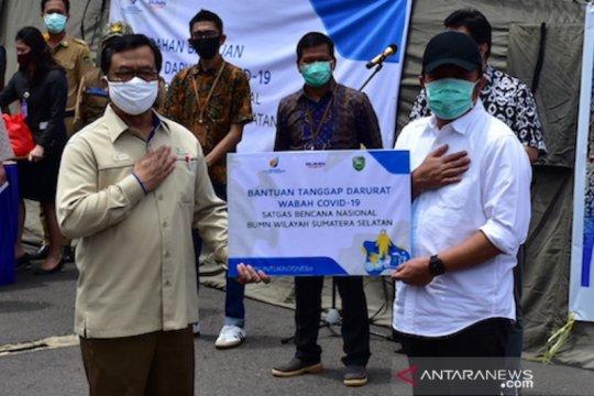 BUMN di Sumatera Selatan salurkan bantuan alat kesehatan