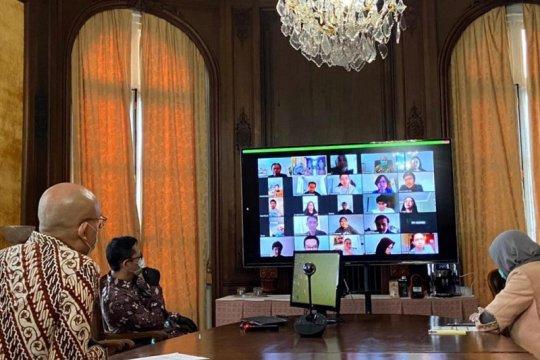 Dubes-mahasiswa Indonesia di Paris gelar bincang tentang COVID-19