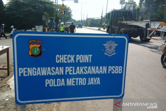 Jaktim miliki tiga lokasi pengawasan PSBB di wilayah perbatasan