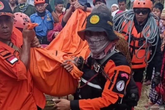 Jasad dua warga yang terseret arus sungai di Cianjur ditemukan
