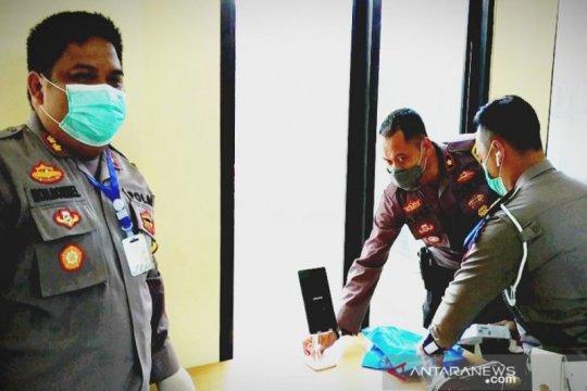 Kini jenguk tahanan Polres Kotawaringin Timur pakai teknologi digital