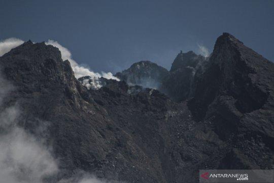 Kondisi kubah lava Gunung Merapi