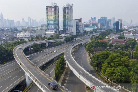 Jakarta lengang saat pemberlakukan PSBB