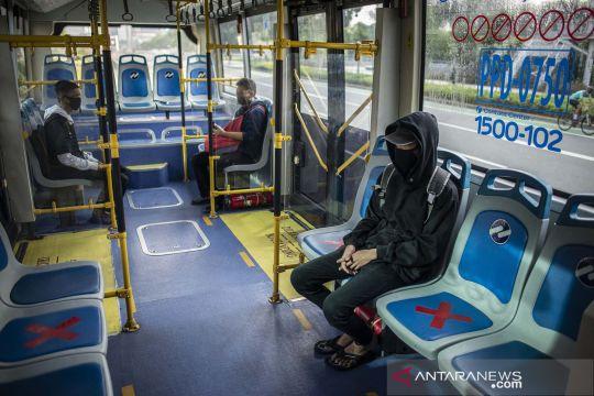 Pembatasan penumpang angkutan umum saat PSBB Jakarta