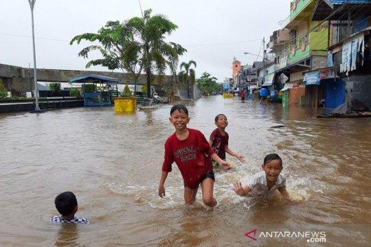 Di tengah pandemi COVID-19, banjir di Barito Utara-Kalteng meluas