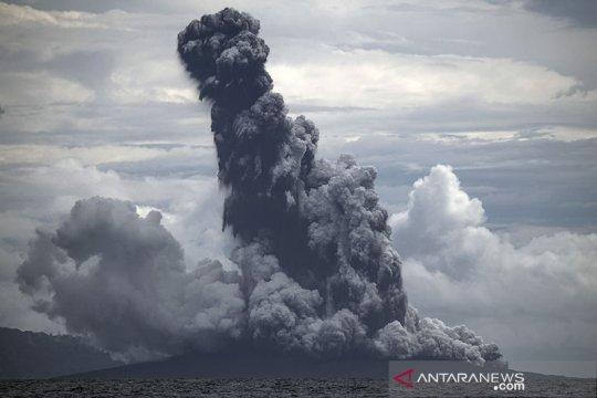 PVMBG pastikan dentuman bukan dari erupsi Gunung Anak Krakatau