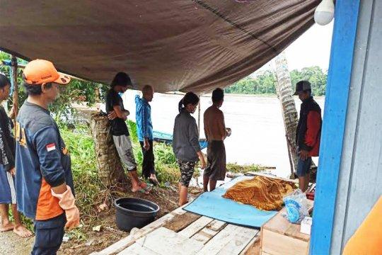 Jasad balita tenggelam di Sungai Barito ditemukan