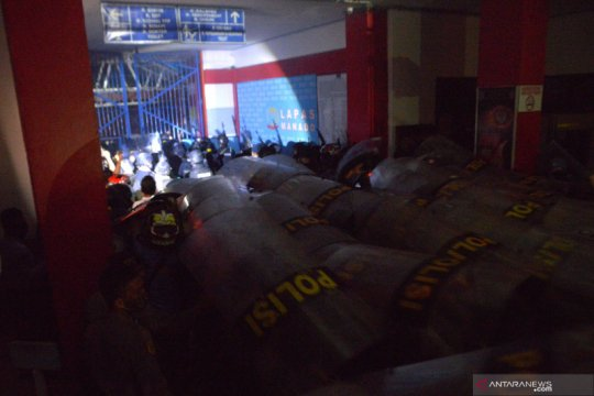 Kondisi Lapas Tuminting Manado berangsur-angsur kondusif