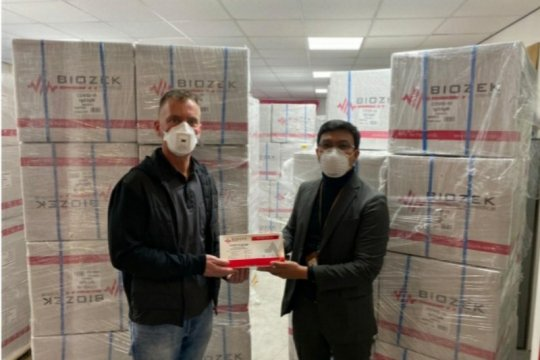 Kimia Farma pesan 300 ribu rapid test Biozek, tiba Sabtu ini