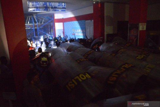 Imbas kerusuhan, 137 narapidana Lapas Tuminting dipindahkan