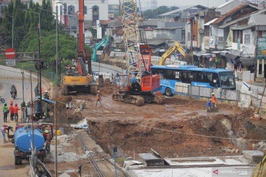 Polisi tutup Jalan Terowongan Senen Jakarta Pusat 10 hari