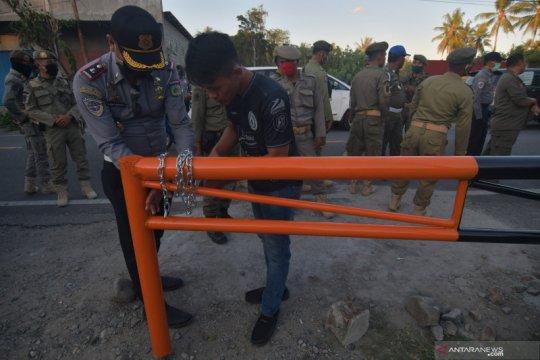 Sistem buka tutup akses ke kota Palu guna cegah penyebaran COVID-19