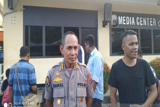Polisi korban bentrokan di Kasonaweja dievakuasi ke Jayapura