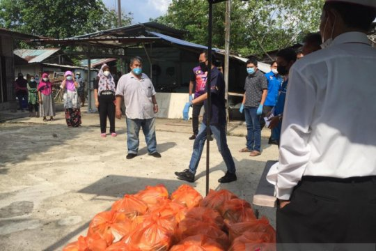 KNPI dan Majlis Belia Malaysia santuni TKI terdampak COVID-19