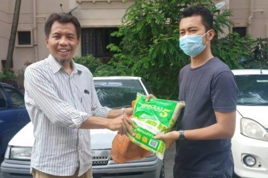 PPI Malaysia distribusi bahan makanan ke mahasiswa