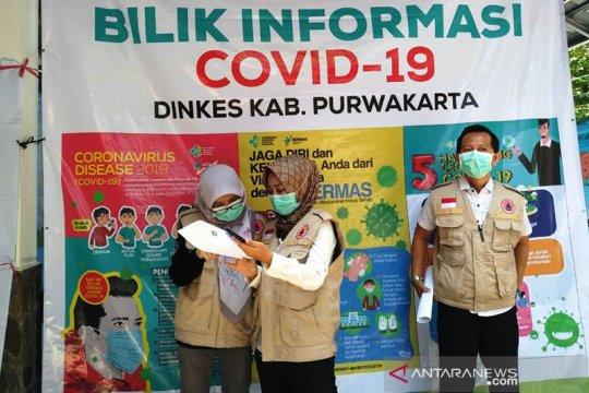 Balita yang positif COVID-19 di Purwakarta dinyatakan sembuh