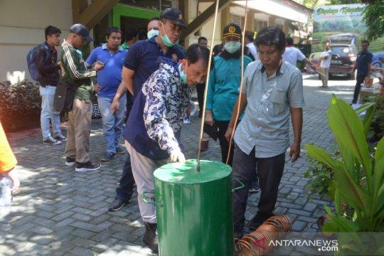 Pemkab Gorontalo ubah minuman captikus jadi hand santizer
