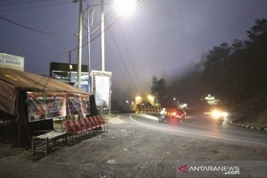 Volume kendaraan menuju Puncak-Cianjur meningkat menjelang PSBB