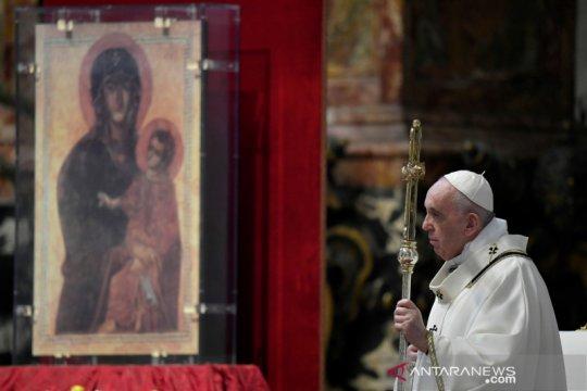 Gereja di Vatikan, Italia kembali dibuka untuk misa publik