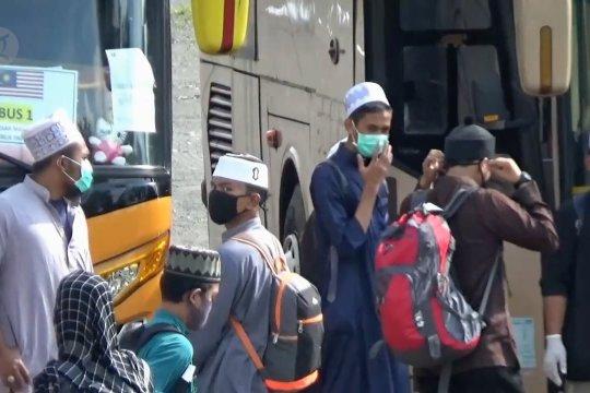 124 santri asal Malaysia dipulangkan