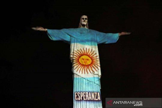 Kasus COVID-19 Argentina lampaui 100.000