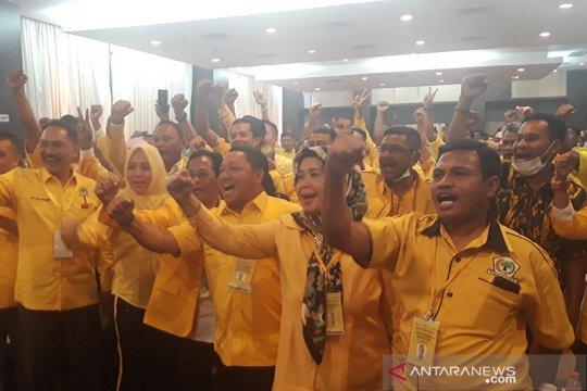 DPD Golkar Malut ancam pecat 10 legislator tak hadiri musda