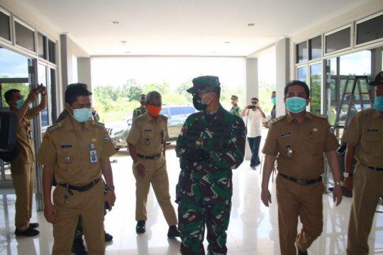 Pangdam Tanjungpura tinjau Rusunawa untuk isolasi COVID-19