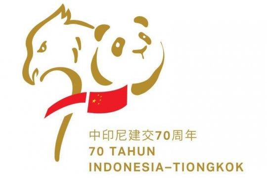 Dubes RI luncurkan logo 70 tahun hubungan Indonesia-China