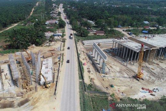 Hutama Karya: Progres konstruksi Tol Pekanbaru-Dumai capai 96 persen