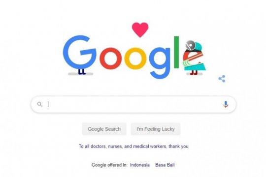 Google Doodle sampaikan terima kasih kepada para petugas medis