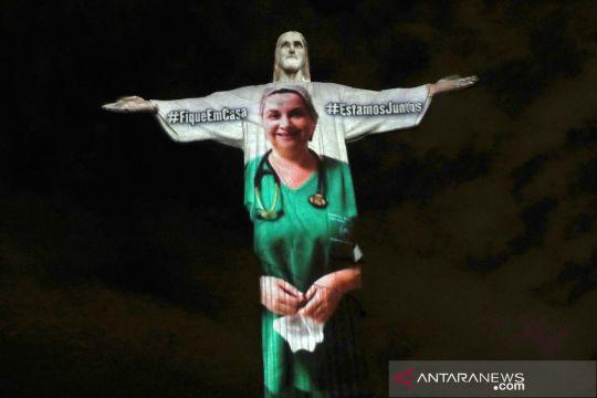 Warna-warni patung Yesus pancarkan semangat melawan COVID-19
