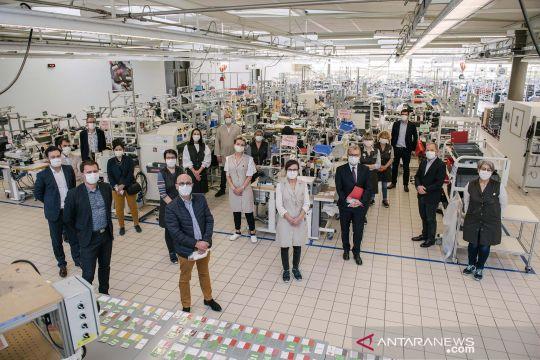 Louis Vuitton produksi masker guna bantu penanganan COVID-19 di Perancis