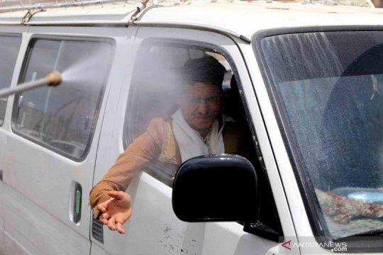 Upaya menekan penyebaran COVID-19 yang terus berlanjut di Yaman