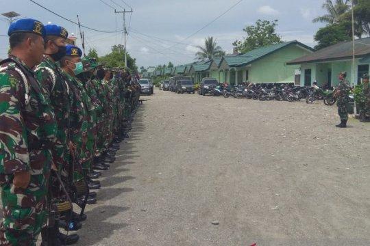Dandim Mimika peringatkan prajurit TNI tanggalkan ego pribadi