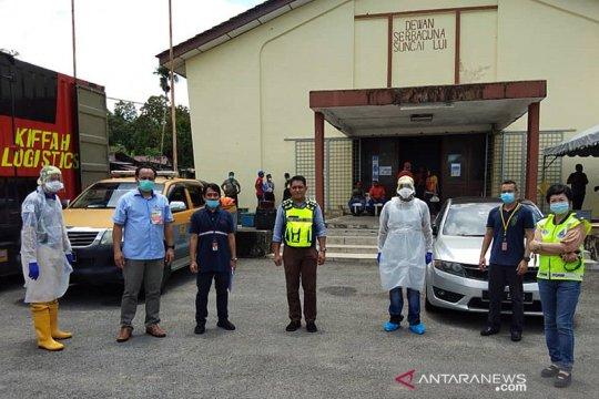 KBRI Kuala Lumpur kirim makanan ke WNI terisolasi di Hulu Langat